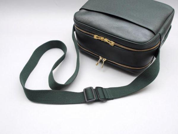 ■【ほぼ未使用】ルイヴィトン Louis Vuitton タイガ リポーターPM 斜め掛け ショルダーバッグ メンズ エピセア 鞄 かばん 定価約15万_画像7
