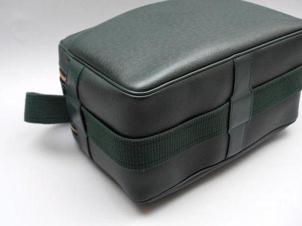 ■【ほぼ未使用】ルイヴィトン Louis Vuitton タイガ リポーターPM 斜め掛け ショルダーバッグ メンズ エピセア 鞄 かばん 定価約15万_画像5