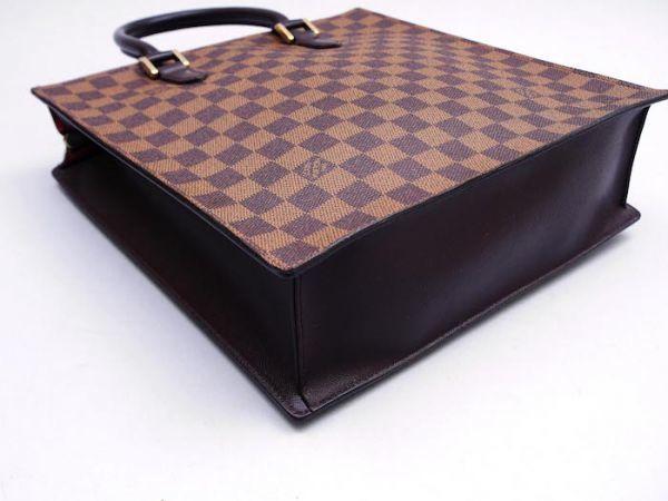 ■【美品】ルイヴィトン Louis Vuitton ダミエ ヴェニスPM トートバッグ ビジネス メンズ レディース かばん 定価約15万_画像6