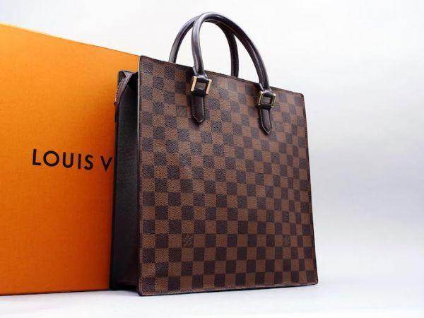■【美品】ルイヴィトン Louis Vuitton ダミエ ヴェニスPM トートバッグ ビジネス メンズ レディース かばん 定価約15万_画像2