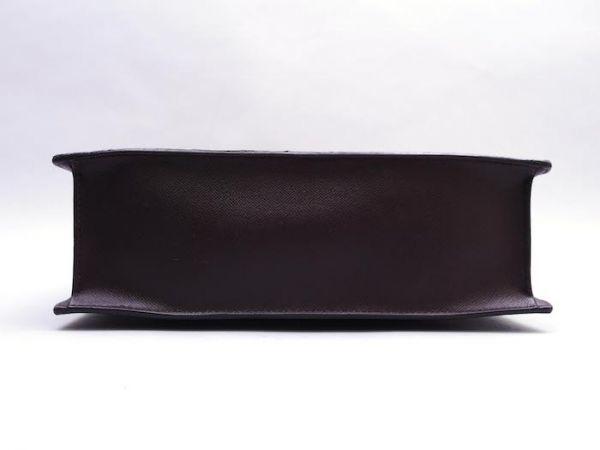 ■【美品】ルイヴィトン Louis Vuitton ダミエ ヴェニスPM トートバッグ ビジネス メンズ レディース かばん 定価約15万_画像5