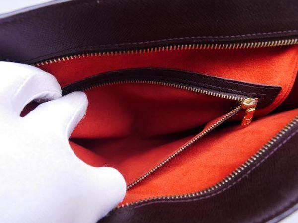 ■【美品】ルイヴィトン Louis Vuitton ダミエ ヴェニスPM トートバッグ ビジネス メンズ レディース かばん 定価約15万_画像9