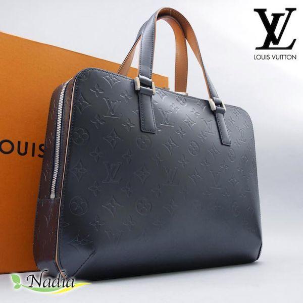 【新品同様 ほぼ未使用】ルイヴィトン Louis Vuitton モノグラムマット マルデン ビジネスバッグ ブリーフケース メンズ レザー 定価約17万