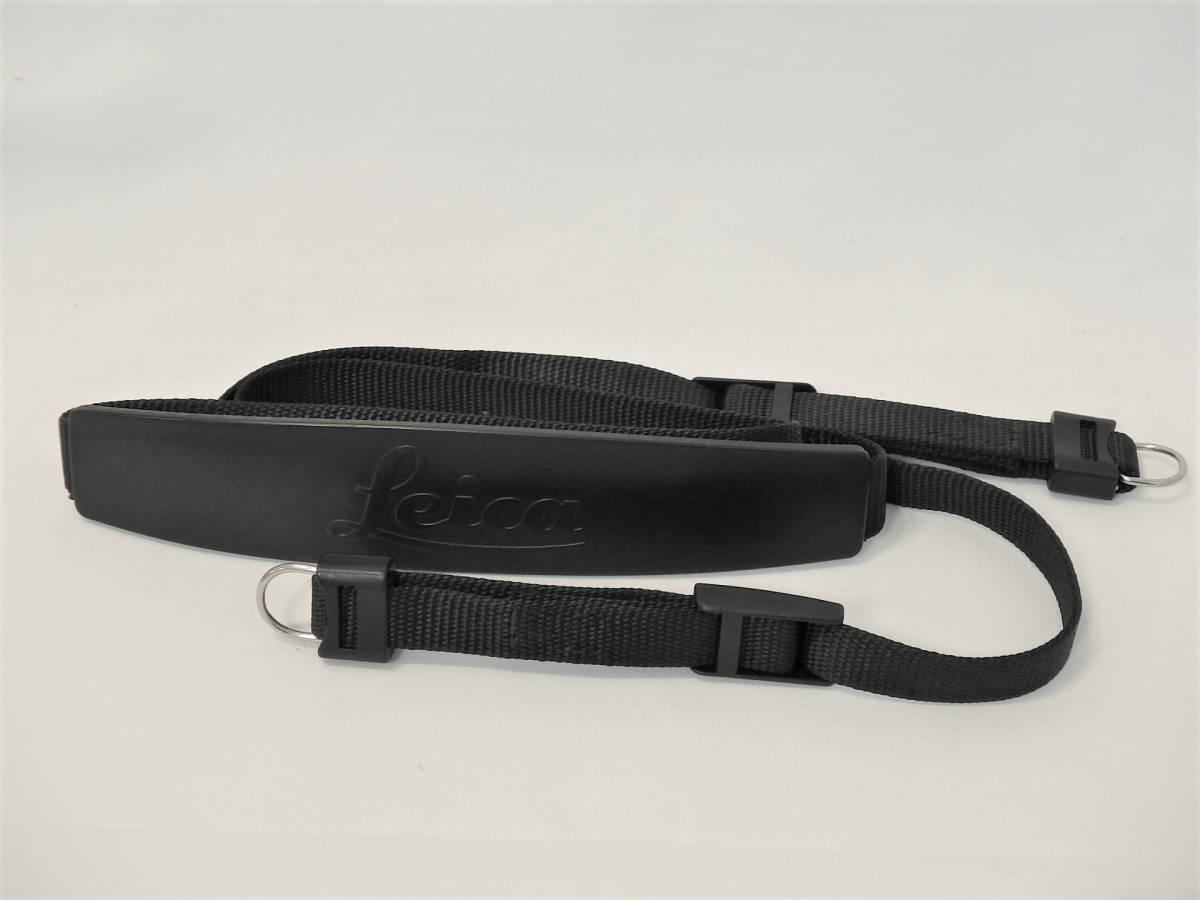 LEICA strap for M2 M3 M4 M6 定番のストラップ 筆記体ロゴタイプ 専用吊金具付 良好です _画像6