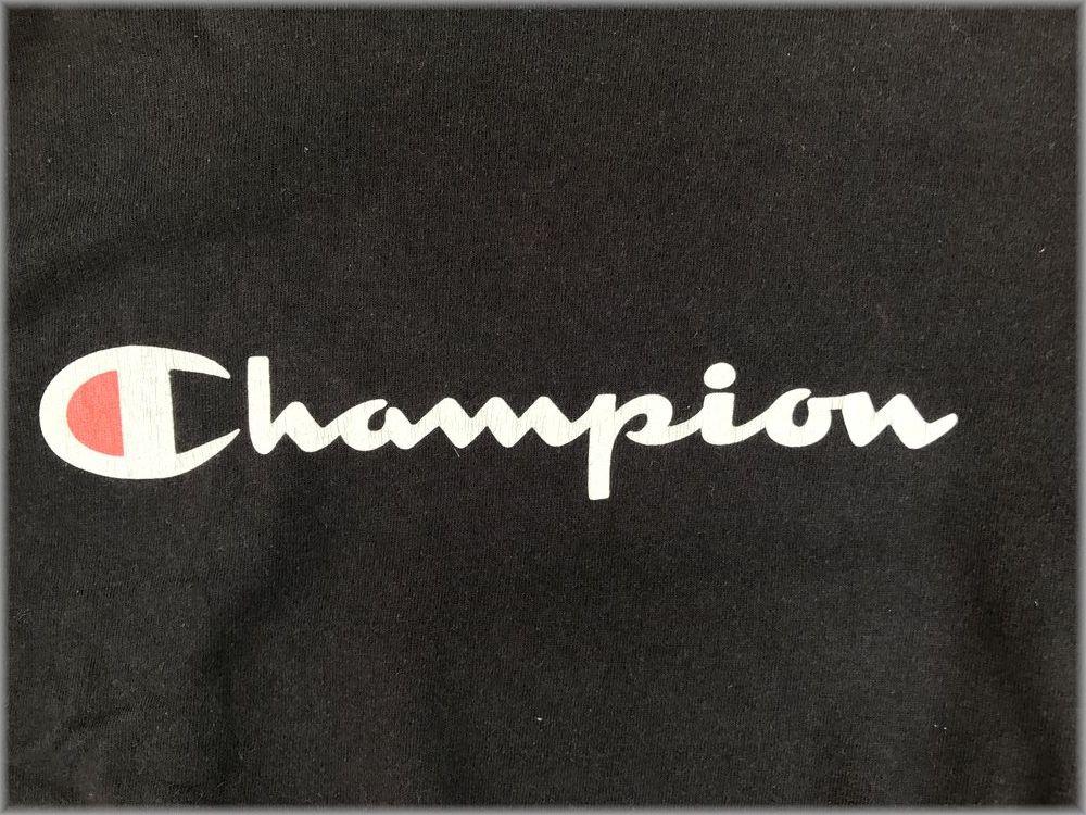 ★チャンピオン USA製 ロンT size L ブラック★検 ビンテージ 90s 長袖 Tシャツ_画像4
