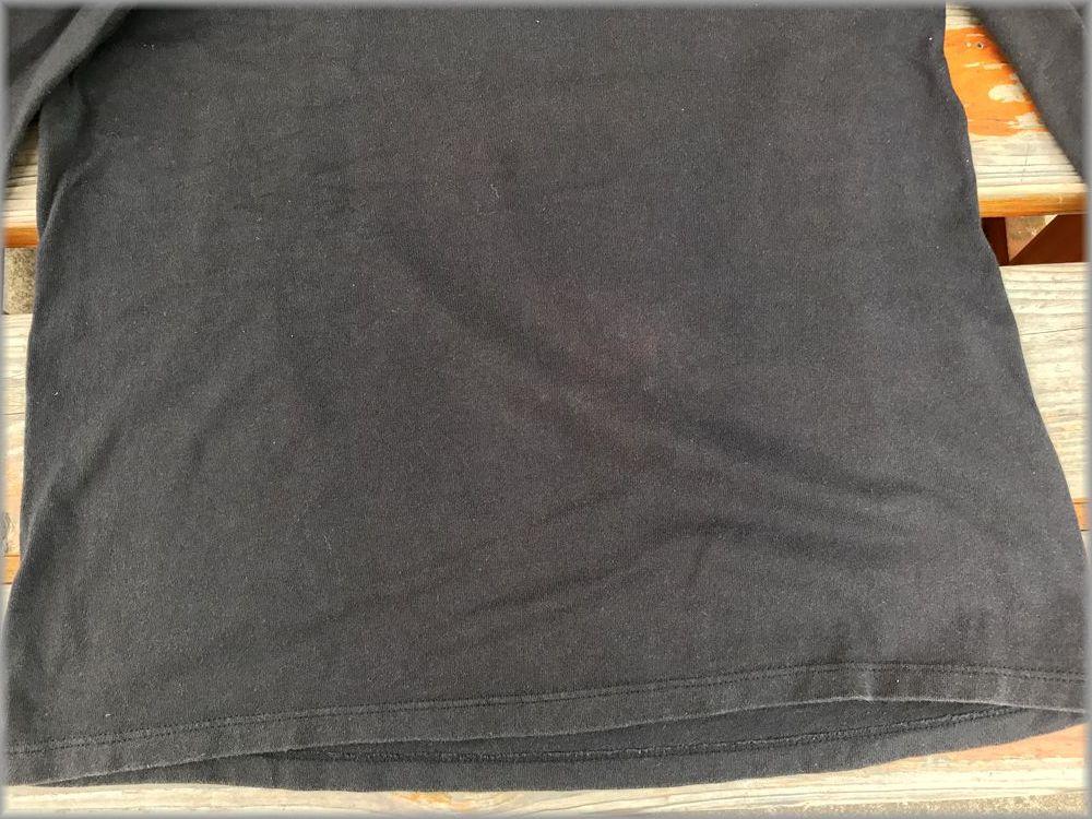 ★チャンピオン USA製 ロンT size L ブラック★検 ビンテージ 90s 長袖 Tシャツ_画像6