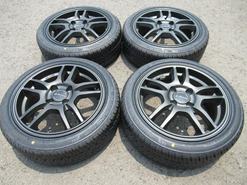 新品タイヤ☆165/50-15 165/50R15 セイバーリング SL201 weds ウェッズ マットガンメタ 6J+43 100 4H カスタムKカーに☆