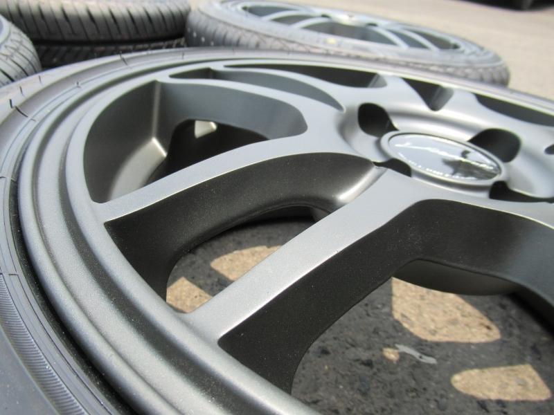 新品タイヤ☆165/50-15 165/50R15 セイバーリング SL201 weds ウェッズ マットガンメタ 6J+43 100 4H カスタムKカーに☆_画像7