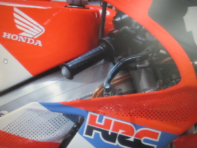 希少 入手困難 新品未使用 ホンダ HRC ワークスグリップ RS500 NSR500 RVF750R NSR250 RC30_画像8