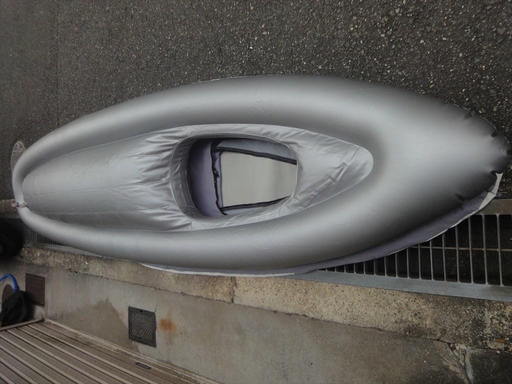 ドッペルギャンガー PVCインフレータブルカヤック K-6 中古 少々問題あり!_画像7