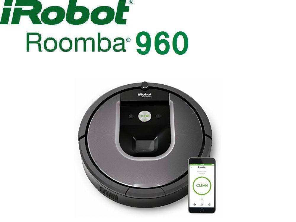 1円~新品・未開封!iRobot アイロボット Roomba ルンバ960 ロボット掃除機