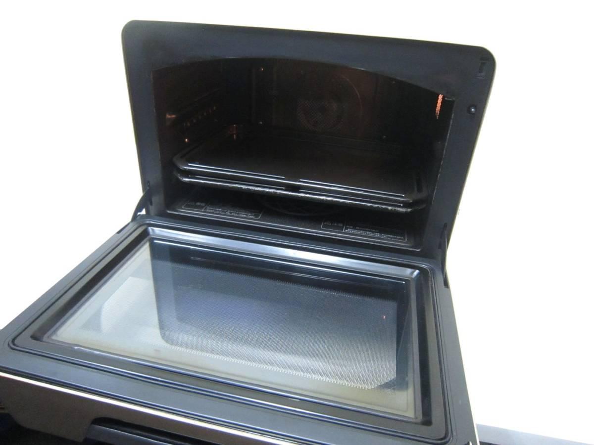 TOSHIBA 東芝 過熱水蒸気オーブンレンジ 石窯ドーム ER-GD400(N) 角皿2枚 ヘルシースチーム調理 石窯遠赤包み焼き _画像5