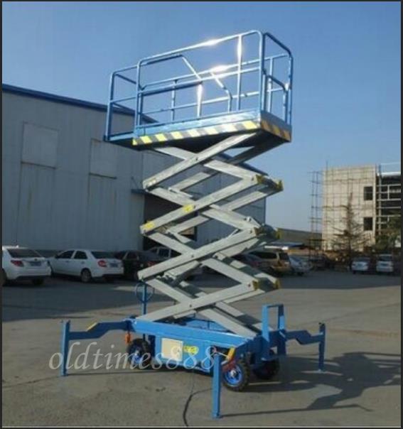 新品未使用8メートル 電動液圧昇降プラットフォーム/移動式エレベーター/昇降エレベーター KOP-134_画像5