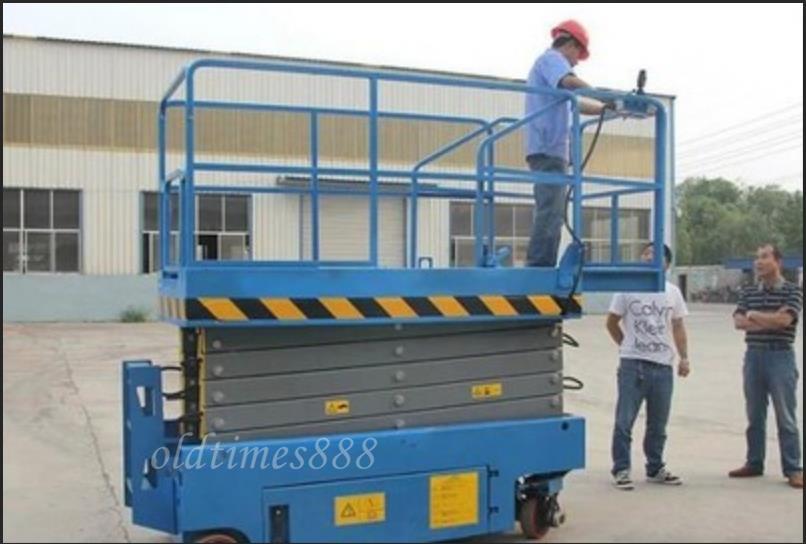 新品未使用8メートル 電動液圧昇降プラットフォーム/移動式エレベーター/昇降エレベーター KOP-134_画像4