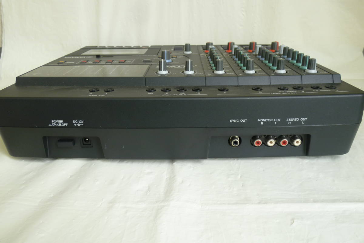 《通電確認済み》 YAMAHA ヤマハ カセット MTR マルチトラックレコーダー MT400 アダプター ソフトケース付き 動作未確認 Y2019061401_画像6