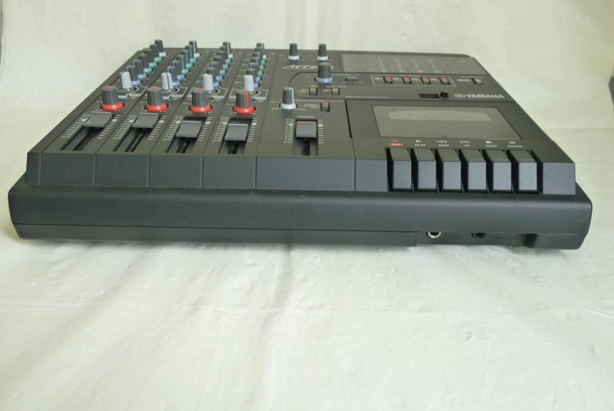 《通電確認済み》 YAMAHA ヤマハ カセット MTR マルチトラックレコーダー MT400 アダプター ソフトケース付き 動作未確認 Y2019061401_画像7
