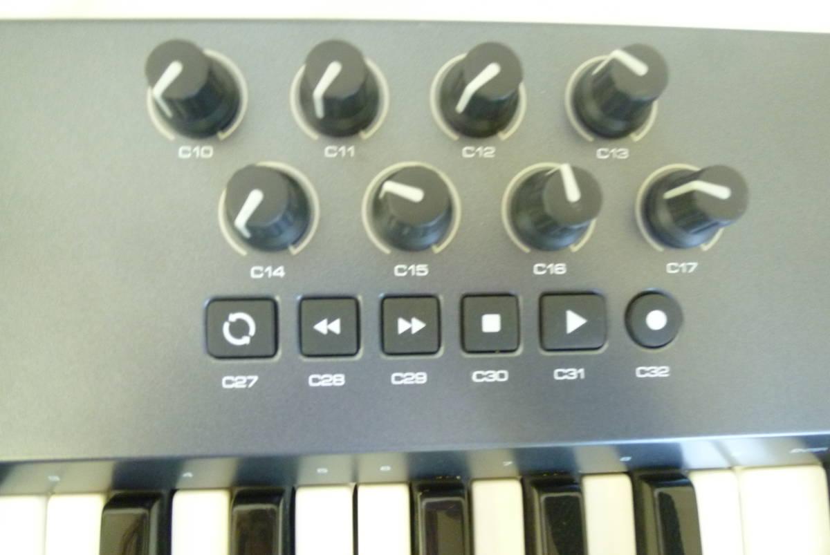 ROLAND M-AUDIO 49鍵盤 USBケーブル MIDIコントローラー OXYGEN49 MIDIキーボード 楽曲製作 Y2019061403_画像7