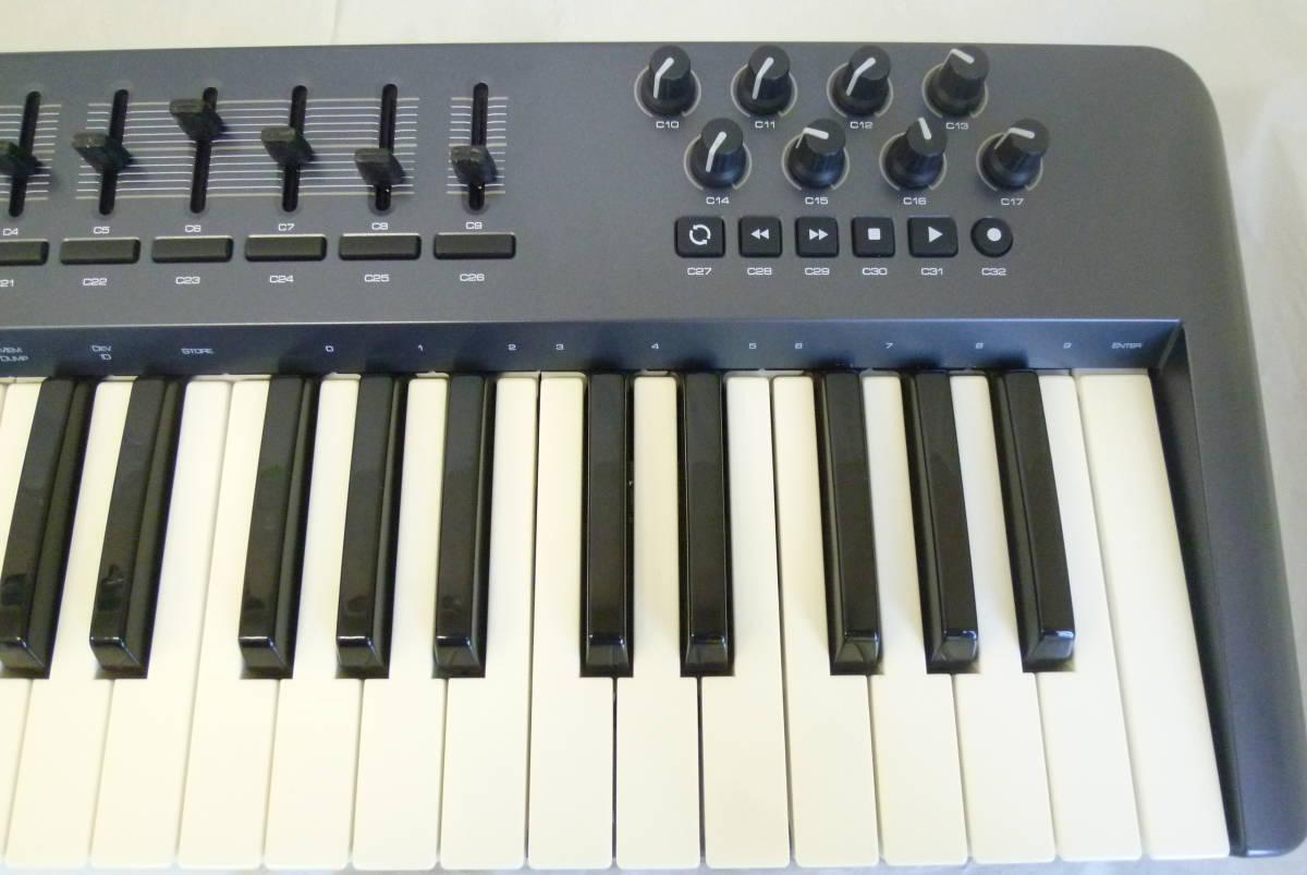 ROLAND M-AUDIO 49鍵盤 USBケーブル MIDIコントローラー OXYGEN49 MIDIキーボード 楽曲製作 Y2019061403_画像4