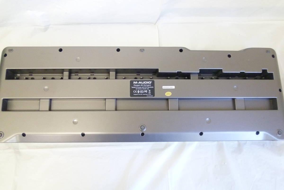 ROLAND M-AUDIO 49鍵盤 USBケーブル MIDIコントローラー OXYGEN49 MIDIキーボード 楽曲製作 Y2019061403_画像8