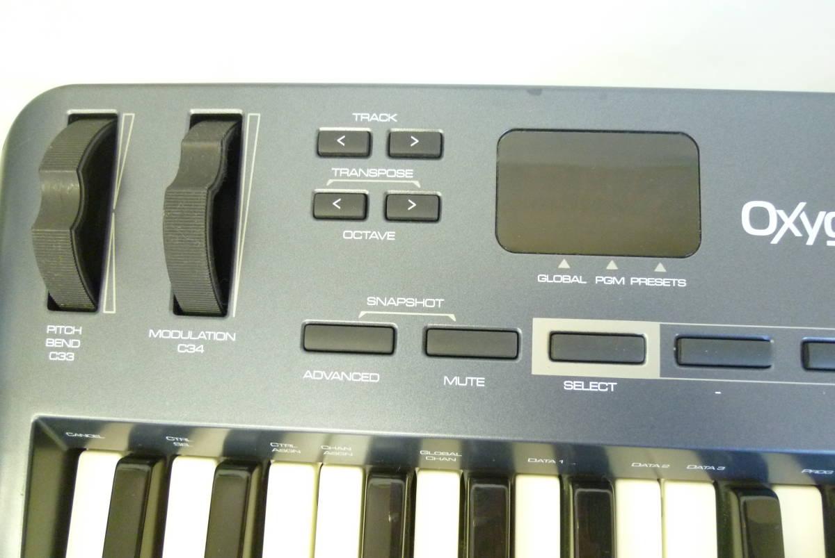 ROLAND M-AUDIO 49鍵盤 USBケーブル MIDIコントローラー OXYGEN49 MIDIキーボード 楽曲製作 Y2019061403_画像5