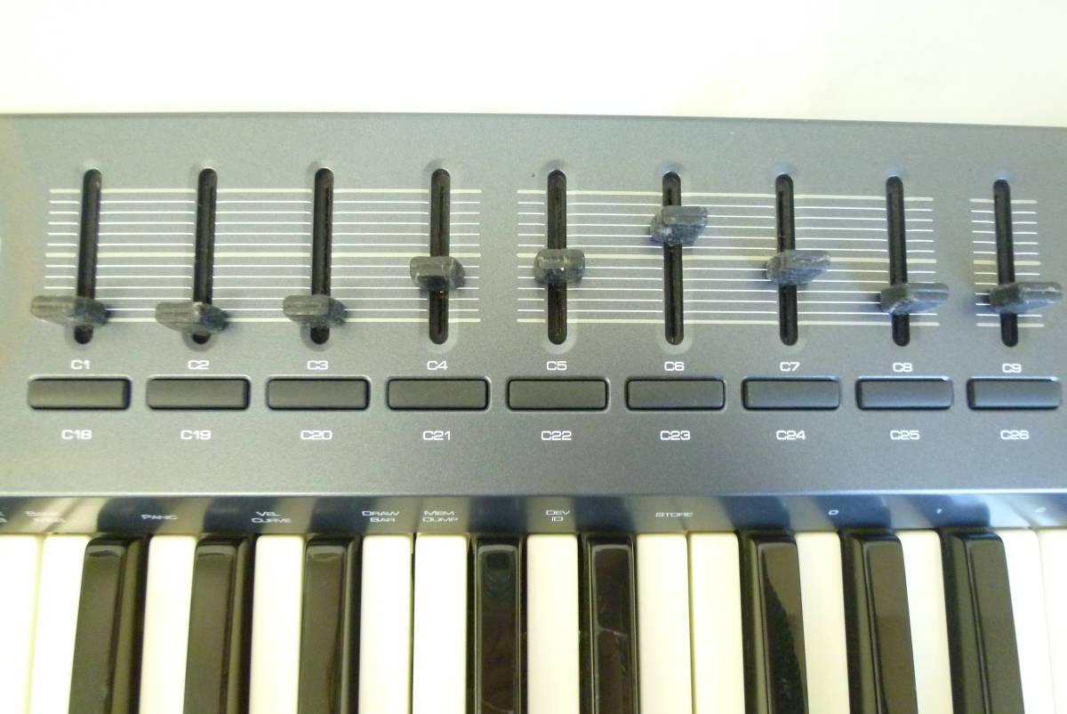 ROLAND M-AUDIO 49鍵盤 USBケーブル MIDIコントローラー OXYGEN49 MIDIキーボード 楽曲製作 Y2019061403_画像6