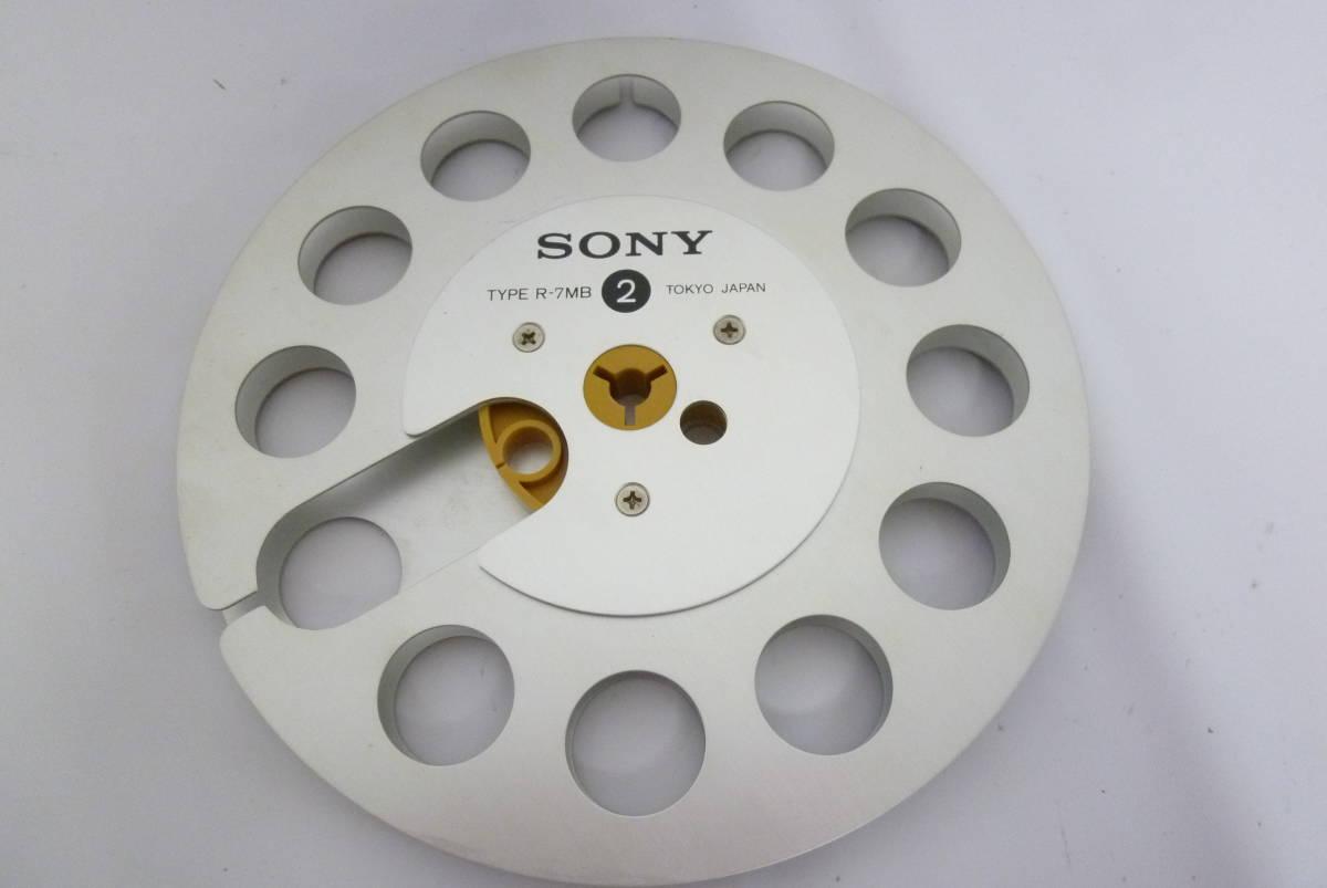 レア 箱付き SONY ソニー R-7MB METALReel メタルオープンリールテープ 7号 動作未確認 Y2019061708_画像4