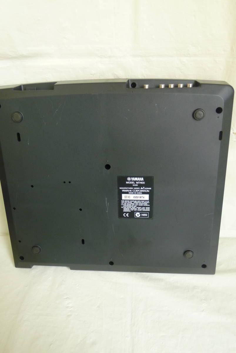《通電確認済み》 YAMAHA ヤマハ カセット MTR マルチトラックレコーダー MT400 アダプター ソフトケース付き 動作未確認 Y2019061401_画像5
