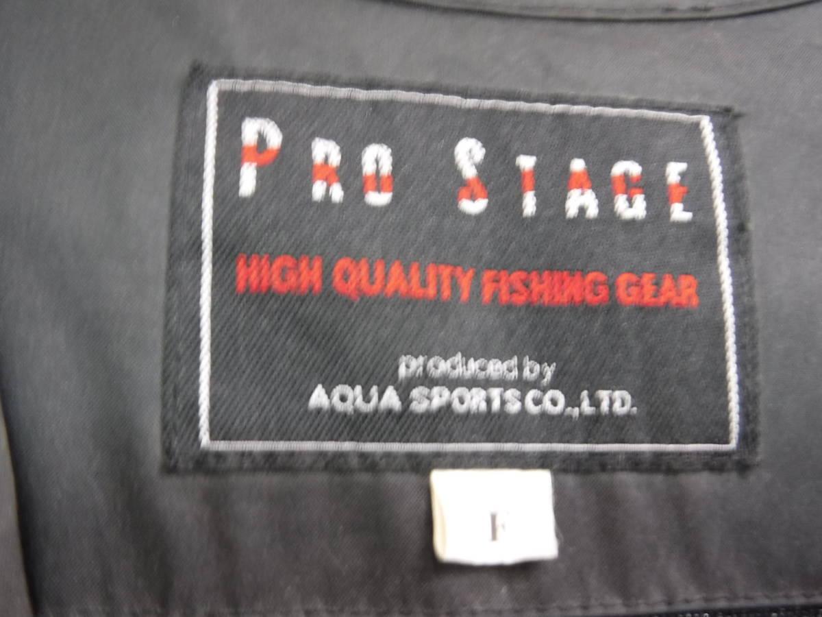 c357 PRO STAGE ライフジャケット/フローティングベスト フリーサイズ 釣り/フローター/ボート/アウトドア/マリンスポーツ_画像2