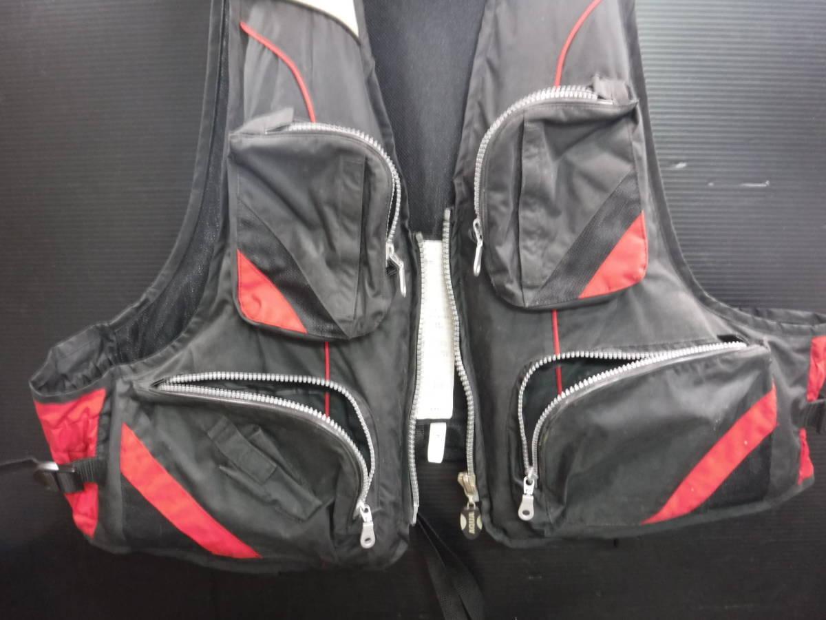 c357 PRO STAGE ライフジャケット/フローティングベスト フリーサイズ 釣り/フローター/ボート/アウトドア/マリンスポーツ_画像5