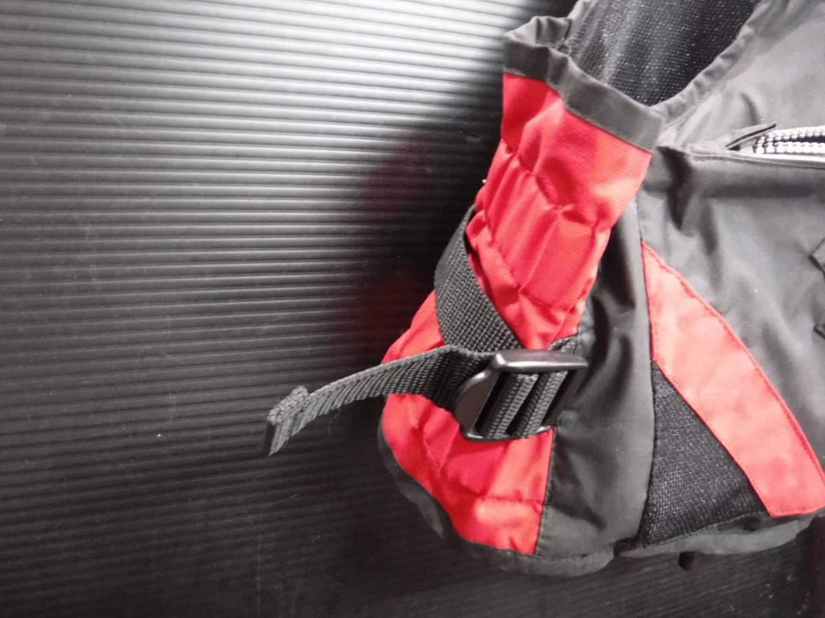 c357 PRO STAGE ライフジャケット/フローティングベスト フリーサイズ 釣り/フローター/ボート/アウトドア/マリンスポーツ_画像6