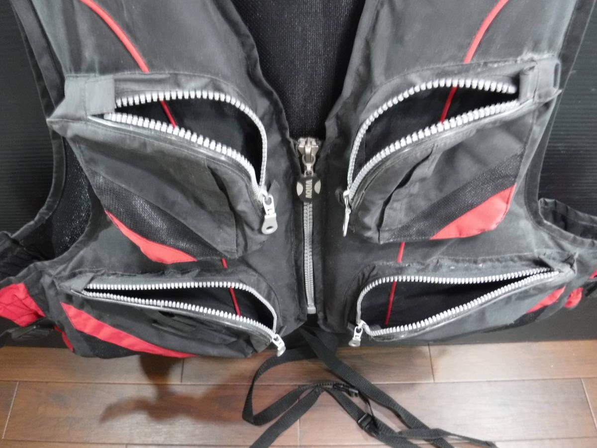 c357 PRO STAGE ライフジャケット/フローティングベスト フリーサイズ 釣り/フローター/ボート/アウトドア/マリンスポーツ_画像4
