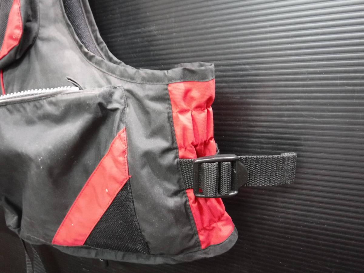 c357 PRO STAGE ライフジャケット/フローティングベスト フリーサイズ 釣り/フローター/ボート/アウトドア/マリンスポーツ_画像7