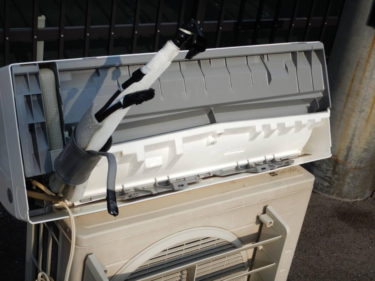 b659 美品 DAIKIN ダイキン エアコン F28MTES-W 10帖タイプ 室外機/R28MES 据付板/リモコン/取説付 冷暖房/空調 別荘引上品 直接引取可_画像10
