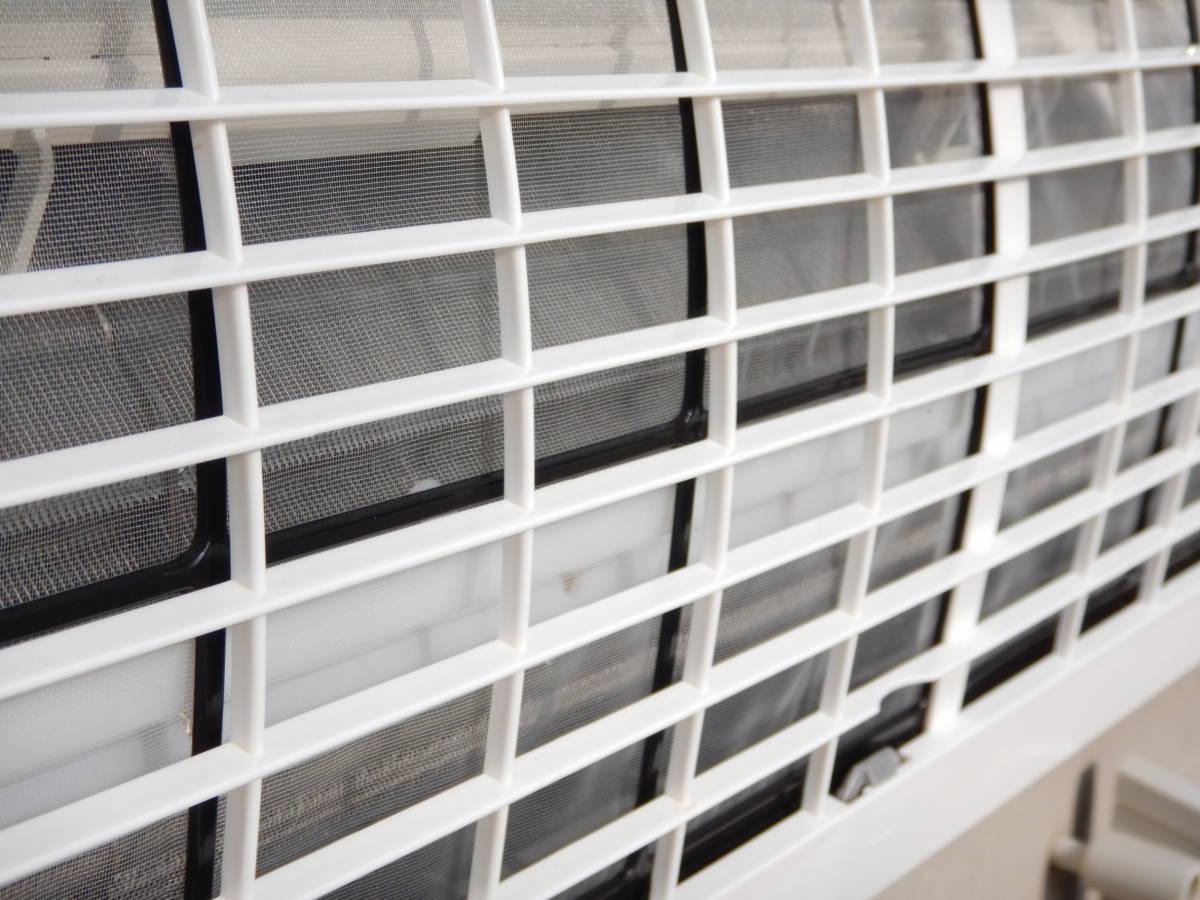 b659 美品 DAIKIN ダイキン エアコン F28MTES-W 10帖タイプ 室外機/R28MES 据付板/リモコン/取説付 冷暖房/空調 別荘引上品 直接引取可_画像8