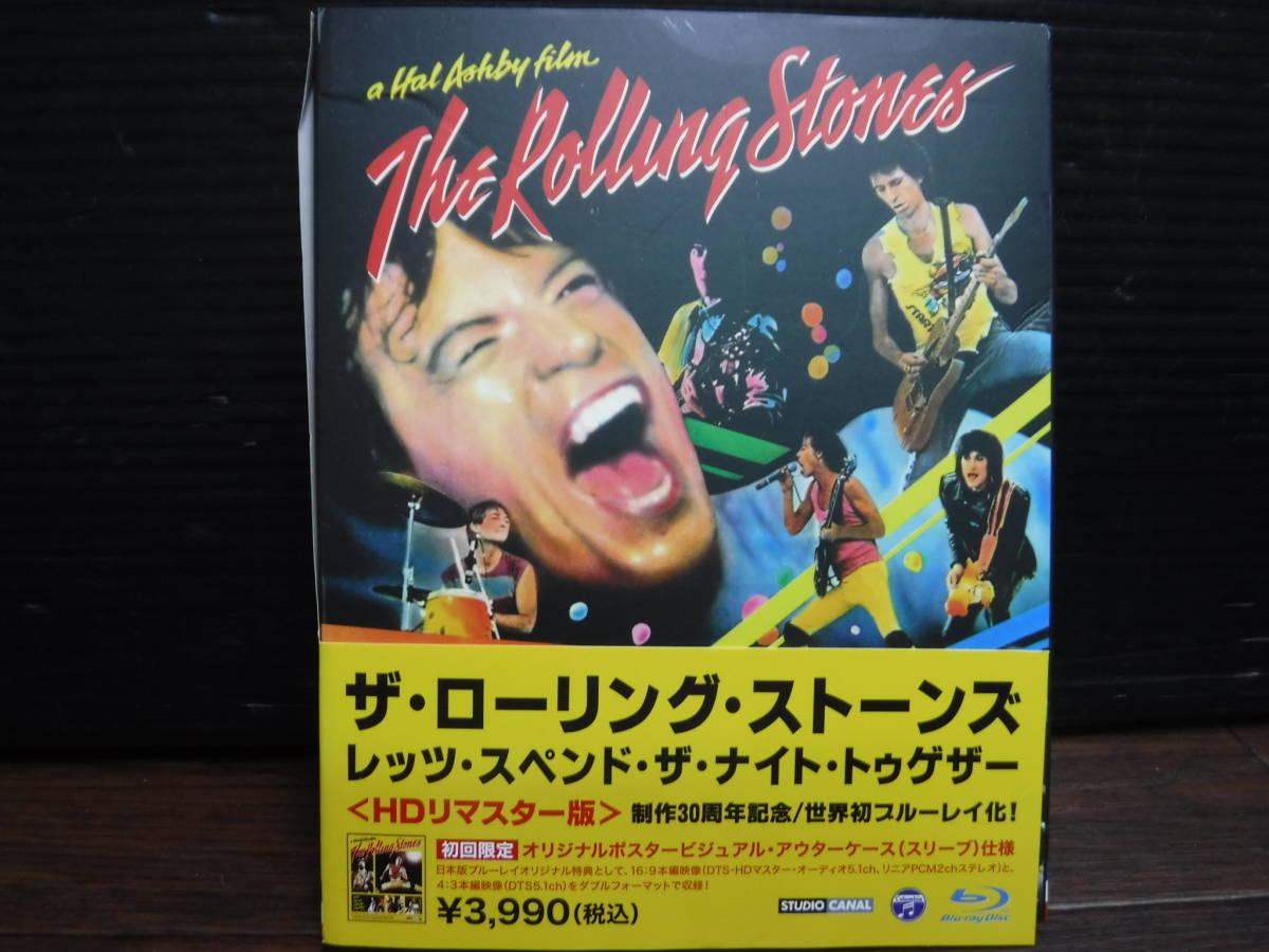 c544 THE ROLLING STONES ザ・ローリング・ストーンズ レッツ・スペンド・ザ・ナイト・トゥゲザー 帯付き Blu-ray Disc/ブルーレイ