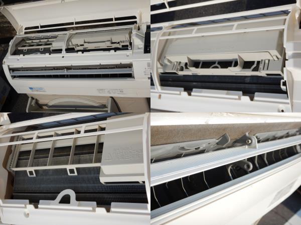 b659 美品 DAIKIN ダイキン エアコン F28MTES-W 10帖タイプ 室外機/R28MES 据付板/リモコン/取説付 冷暖房/空調 別荘引上品 直接引取可_画像7