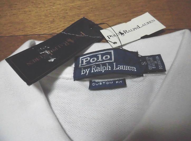 Polo by Raiph Lauren MERCER RL POLO TEAM ポロ ラルフローレン ビッグポニー ナンバリング #3 半袖 ポロシャツ WHY S 紙タグ付未使用品_画像5
