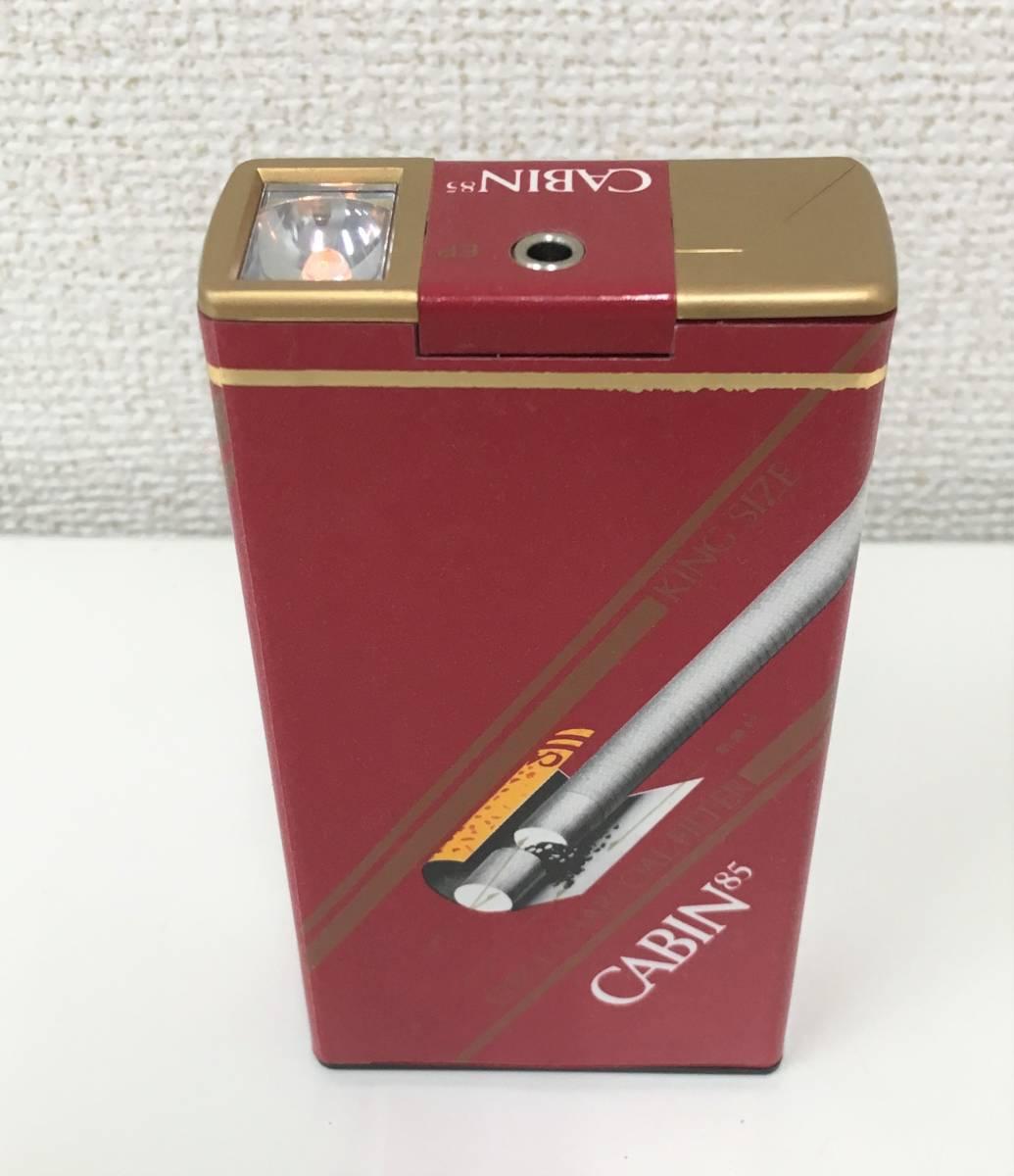 アンティークラジオ【CABIN85 キャビン85】タバコ箱ラジオ/レトロ/動作OK♪/A5855_画像3