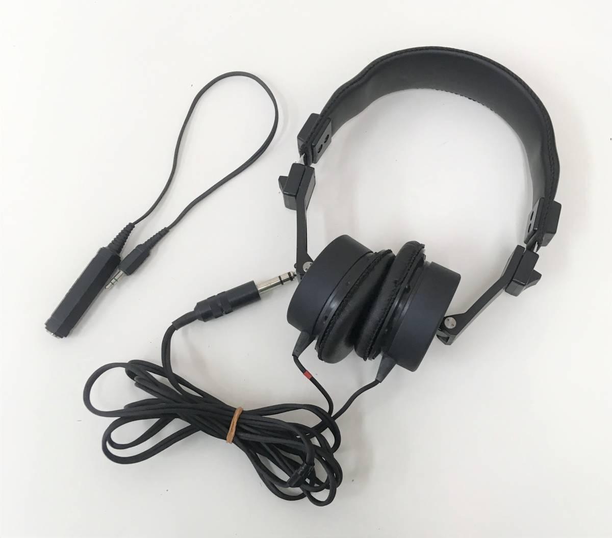 ヴィンテージ【SONY ダイナミックヘッドフォン DR-6M】SWING-OUT TYPE/動作確認済/箱付/A5860_画像2