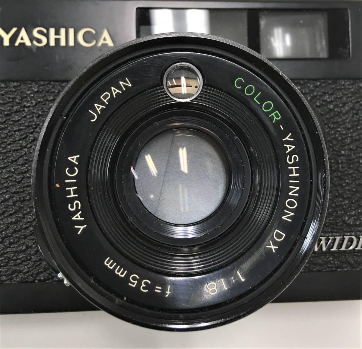 カメラ【ヤシカ YASHICA WIDE ELECTRO35 CCN ヤシノンDX F=35mm 1:1.8】シャッターOK/A5808_画像7