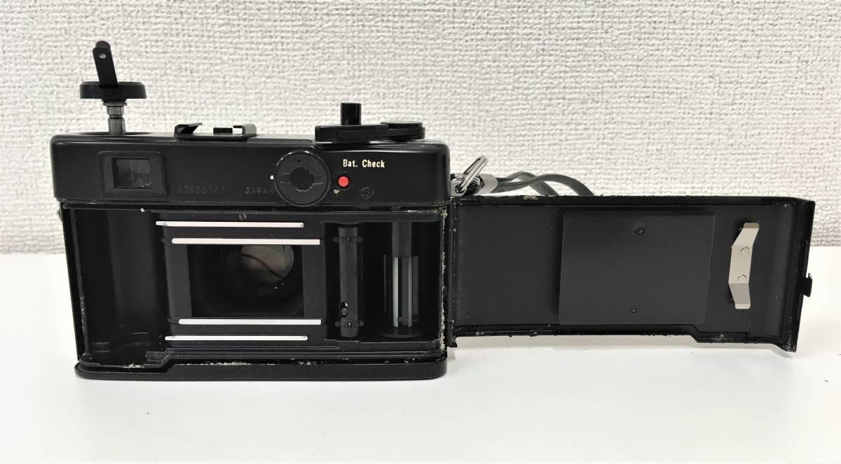 カメラ【ヤシカ YASHICA WIDE ELECTRO35 CCN ヤシノンDX F=35mm 1:1.8】シャッターOK/A5808_画像5