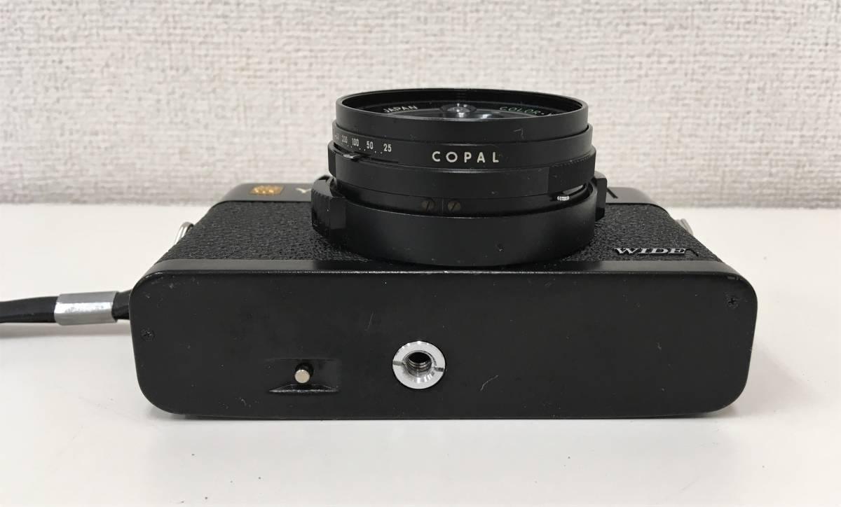 カメラ【ヤシカ YASHICA WIDE ELECTRO35 CCN ヤシノンDX F=35mm 1:1.8】シャッターOK/A5808_画像4