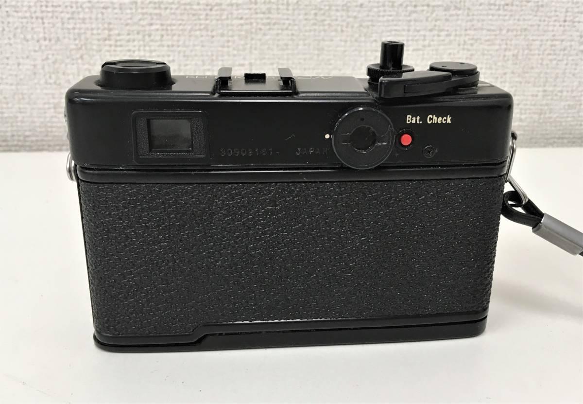 カメラ【ヤシカ YASHICA WIDE ELECTRO35 CCN ヤシノンDX F=35mm 1:1.8】シャッターOK/A5808_画像2