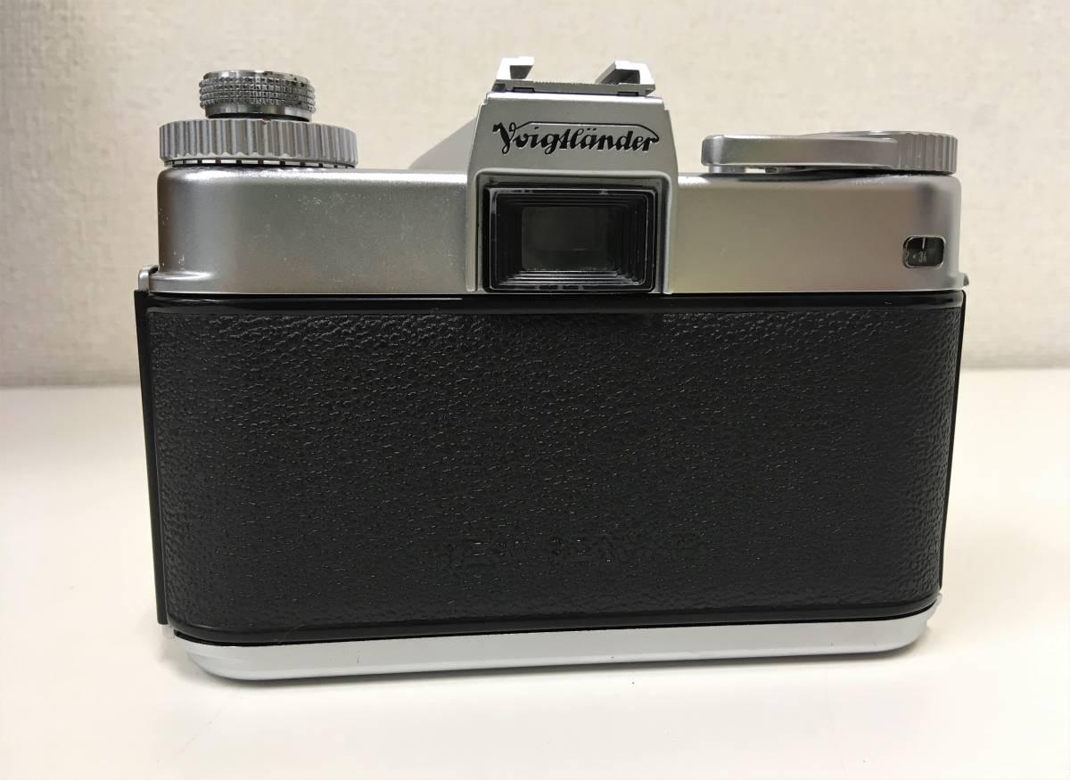 西ドイツ製 カメラ+レンズ3つセット【Voigtlander BESSAMATIC・Skopar X 1:2.8/50・Super-Dynarex 1:4/135など】箱有/A5730_画像3
