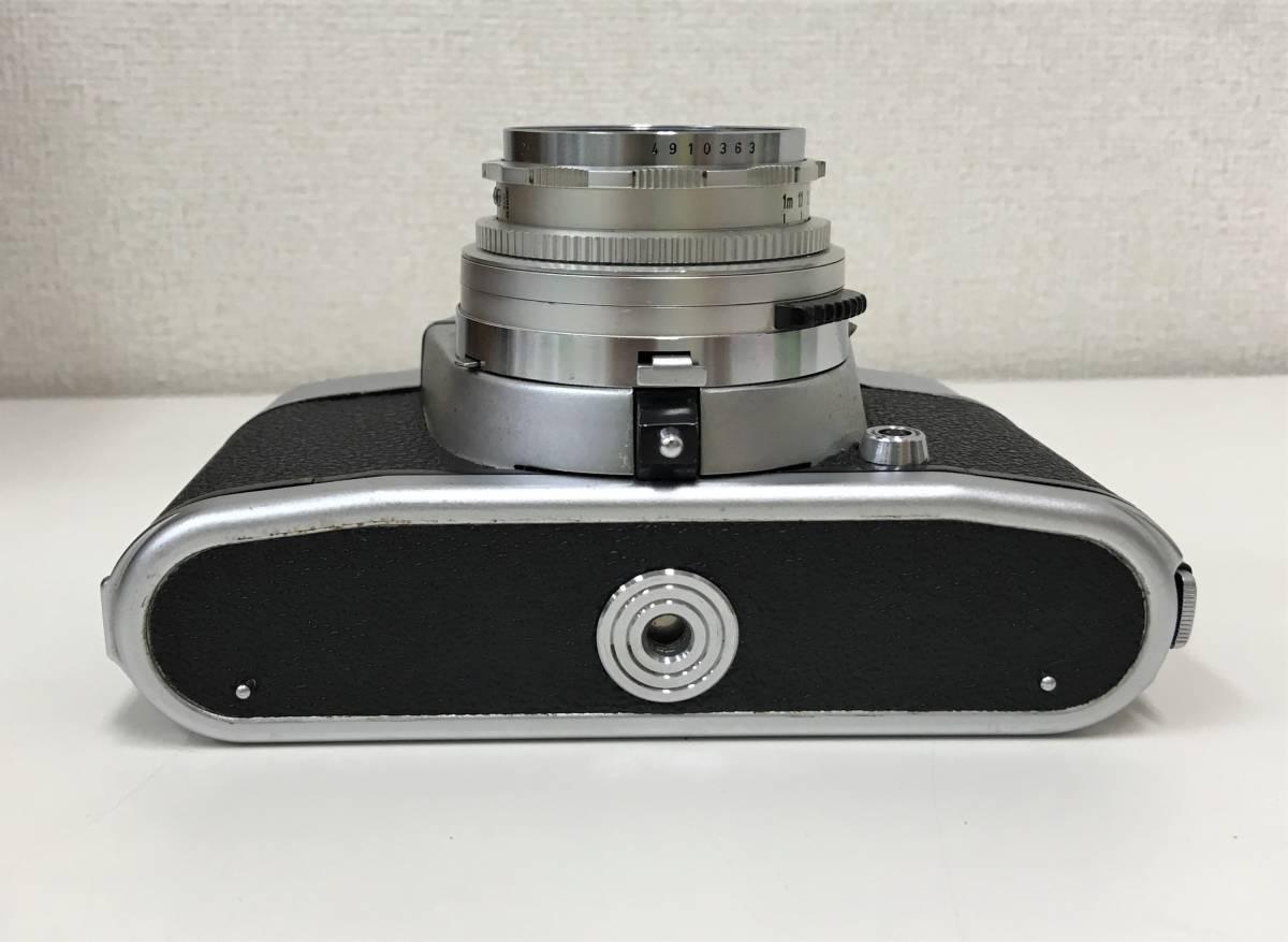西ドイツ製 カメラ+レンズ3つセット【Voigtlander BESSAMATIC・Skopar X 1:2.8/50・Super-Dynarex 1:4/135など】箱有/A5730_画像5
