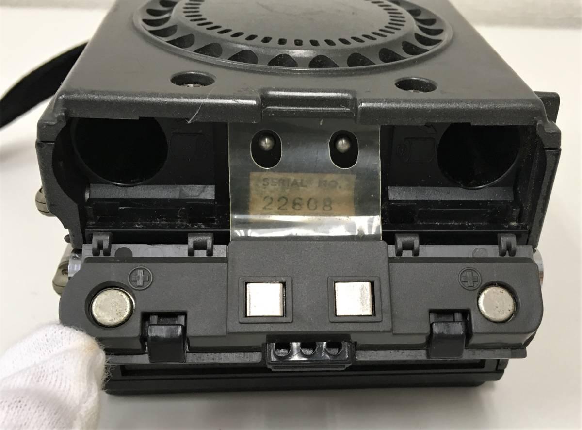 昭和レトロ 【SONY「ICF-7800」ポータブルラジオ】FM/AM/SW/MW 折りたたみ/ニュースキャスター/ジャンク/A5833_画像7