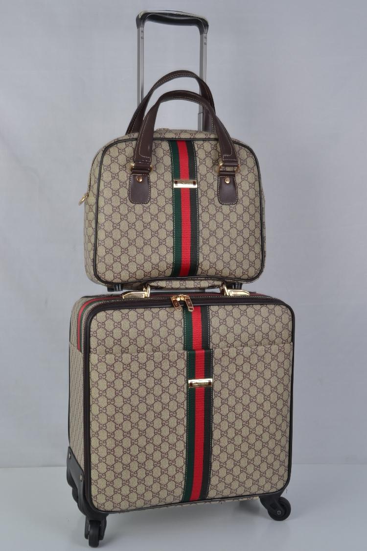 【定価65万】小型本革キャリーケース 機内持ち込み可スーツケース ロック搭載 ビジネス トラベルバッグ 16インチ2点セット