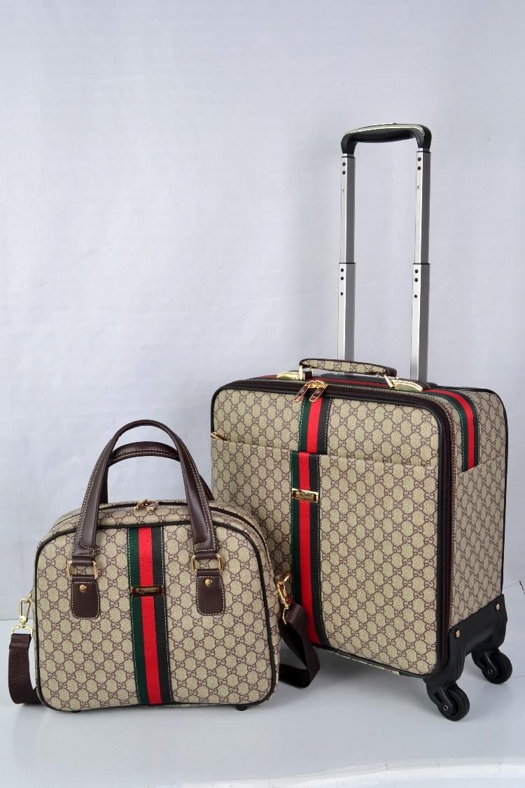 【定価65万】小型本革キャリーケース 機内持ち込み可スーツケース ロック搭載 ビジネス トラベルバッグ 16インチ2点セット_画像3