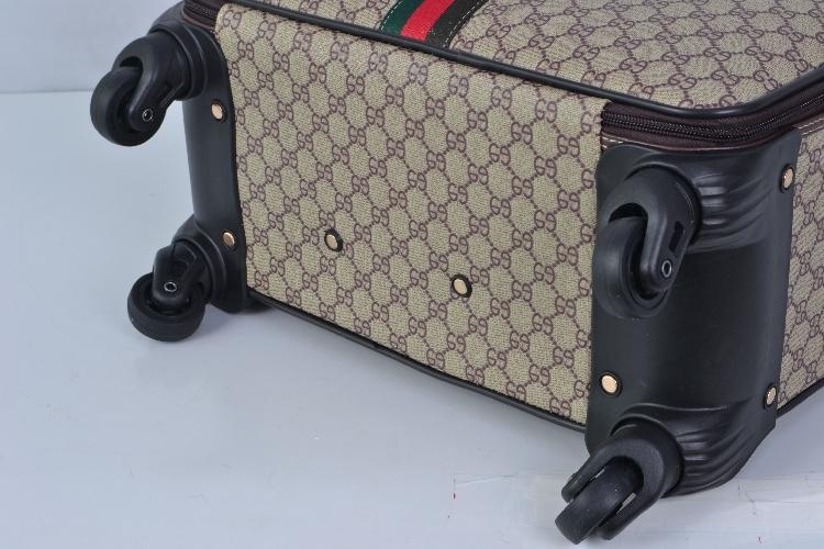 【定価65万】小型本革キャリーケース 機内持ち込み可スーツケース ロック搭載 ビジネス トラベルバッグ 16インチ2点セット_画像6