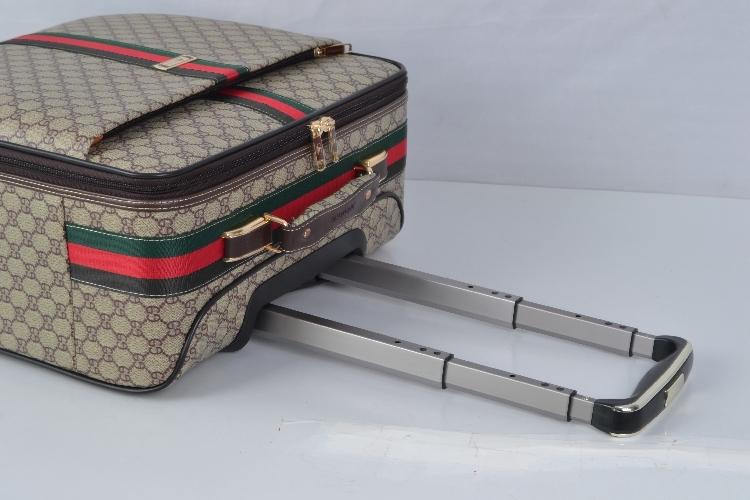 【定価65万】小型本革キャリーケース 機内持ち込み可スーツケース ロック搭載 ビジネス トラベルバッグ 16インチ2点セット_画像5